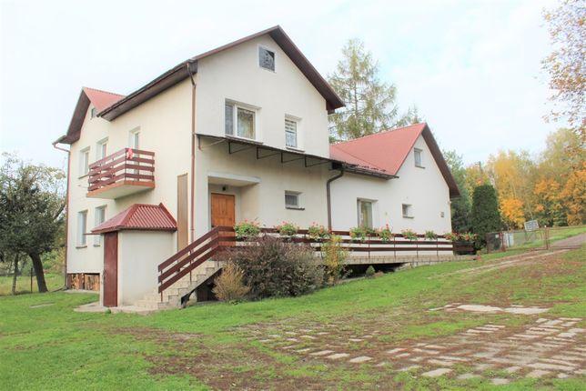 Dom murowany 170m2 + domek 50m2, gotowe pod agroturystykę
