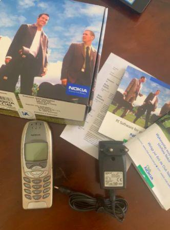 Nokia 6310i Sprawna - cały zestaw