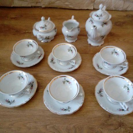 Porcelana zestaw do herbaty kawy
