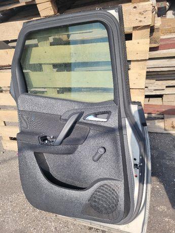 Drzwi z zamkiem opel meriva 2016 1.4 lewy tył
