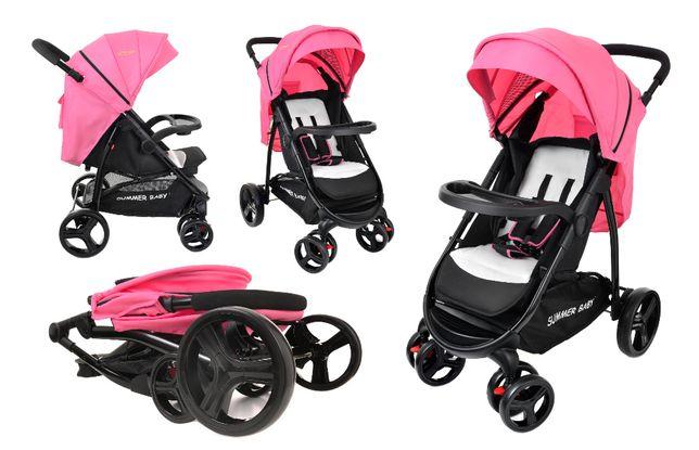 Wózek spacerowy SUMMER BABY model NEVADA 3 kolory