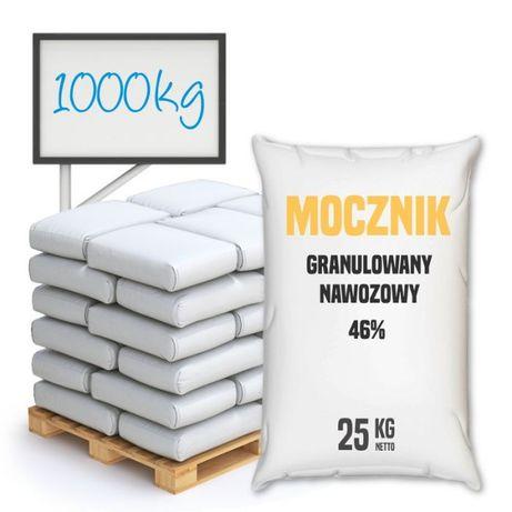 Mocznik granulowany nawozowy 46% – 25 – 1000 kg – Wysyłka kurierem