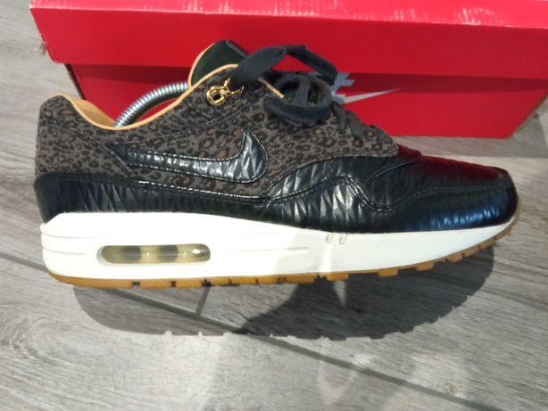 Nike air max 1 leopard woven, us9, 42,5 cm