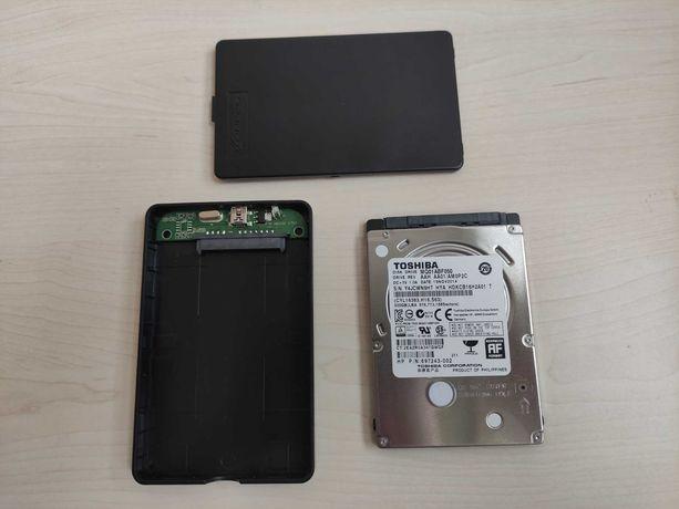 "Внешний USB 2.0 жёсткий диск 2.5"" Toshiba 500GB SATA-II MQ01ABF050"