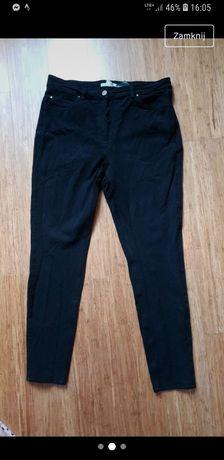 Czarne elastyczne jeansy h&m 170/76A 40