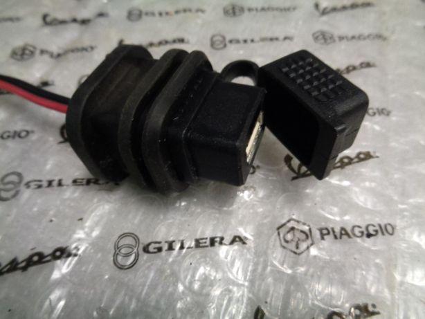 USB Gniazdo do ładowania Oryginał Piaggio-Vespa-Gilera