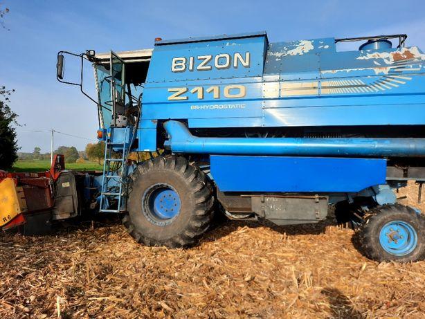 Bizon BS Z110+przystawka do kukurydzy+stół do rzepaku