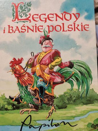 Książka - Legendy i baśnie polskie