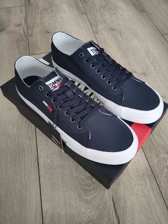 Sneakersy niskie Tommy Jeans LONG LACE UP