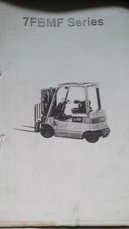 Manuais técnicos empilhadores/máquinas