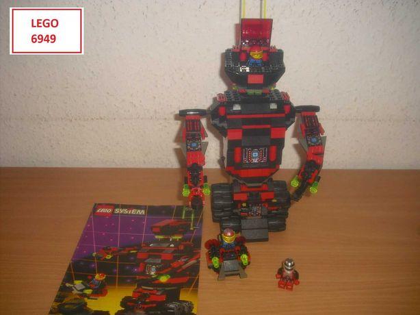 LEGO Space II (6 sets): 6949; 6770; 6703; 6705; 6831; 6704