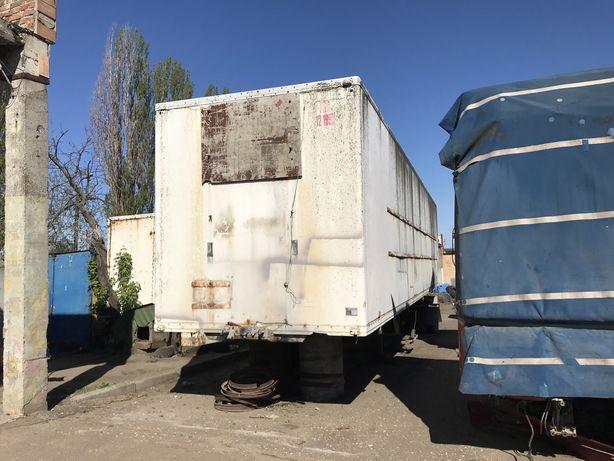 Рефрежератор фургон полуприцеп будка изотерм