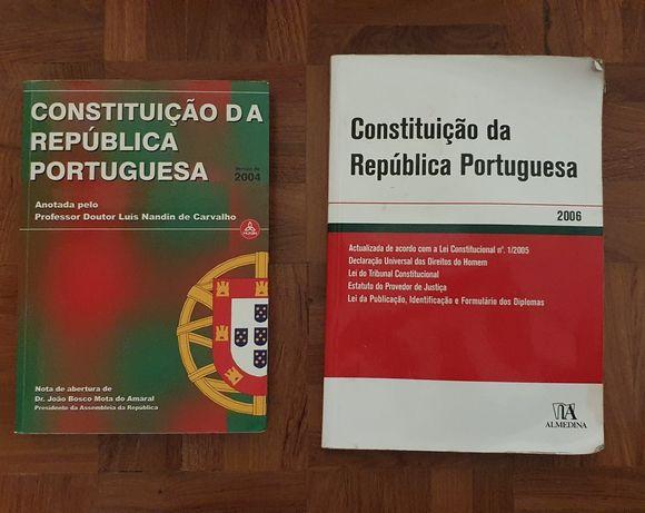 Livros Constituiçao da República Portuguesa