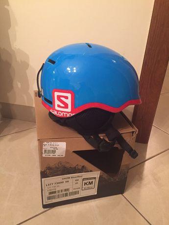 Sprzedam kask narciarski Salomon 53-56cm