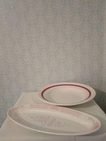 Продаётся посуда СССР. Тарелки, Стаканчики, Графин