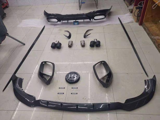 Pakiet Carbon Brabus do Mercedes Amg Gt 4door