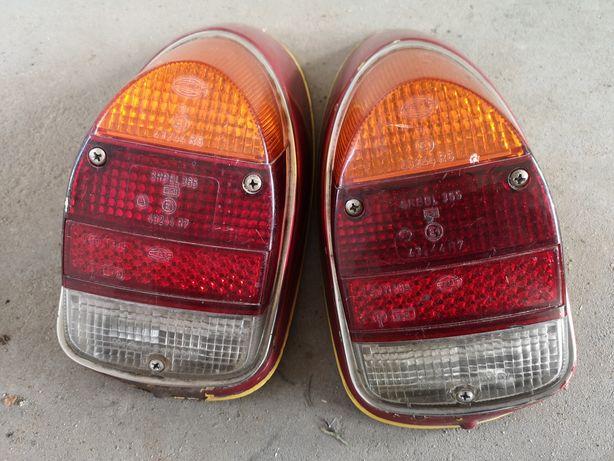Oryginalne HELLA Lampy Tył Garbus żelazka lampa VW tylne chrom