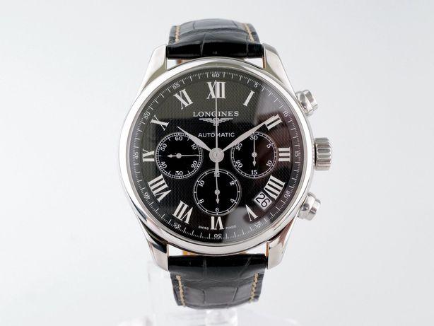 Мужские бу часы Longines Master Collection Chronograph 44 мм