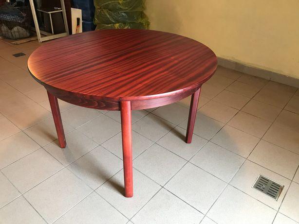 Stół rozkładany okrągły lub eliptyczny do salonu