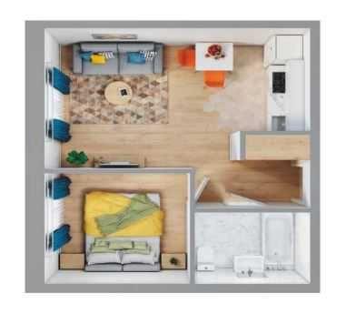 Квартира в Новом доме на Инглези. ЖК Виа Рома от СК Фамильный дом.