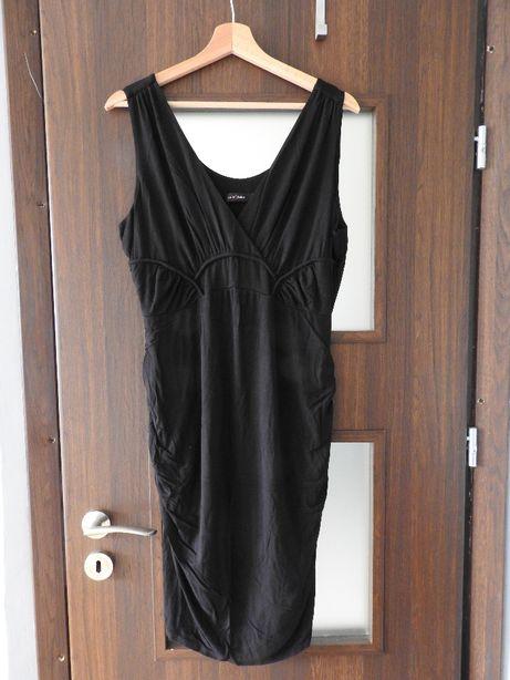 Sukienka ciążowa czarna roz. M/L