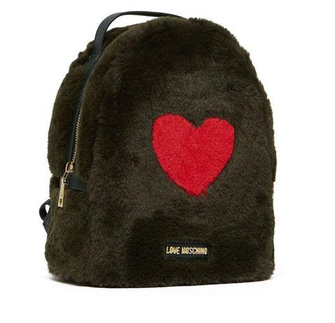 Love Moschino plecak futerko logowany serce