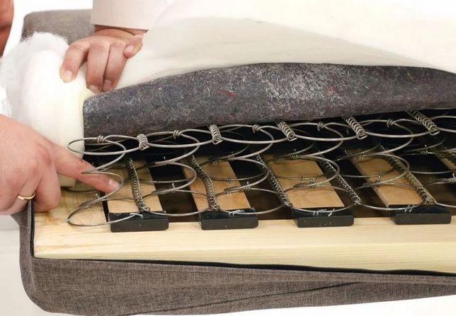 Замена пружинного блока и поролона в диване. Ремонт пружин Киев