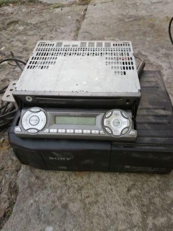 Radio sony Black panel plus zmieniarka