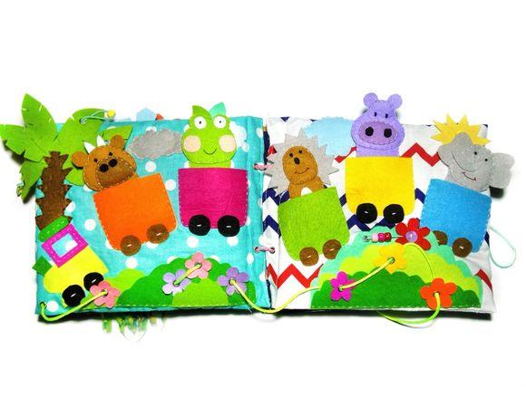 Zabawka, książeczka sensoryczna, prezent dla dzieci, handmade, diy.