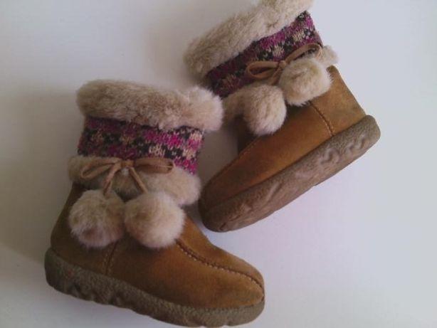 Зимние ботинки на девочку Cherokee размер 21.5 (5 US) стелька 12.5 см