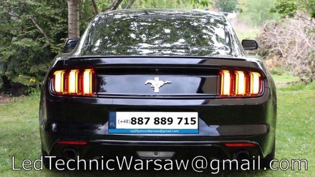 Przerobienie lamp przeróbka USA na EU Ford Mustang Audi VW BMW Porsche