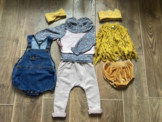 Одежда комбинезон шорты жилет костюм для девочки 1,5-2 года