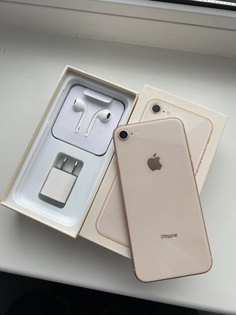 Iphone 8 64gb Gold в иделе. Цена НИЗКАЯ!!!