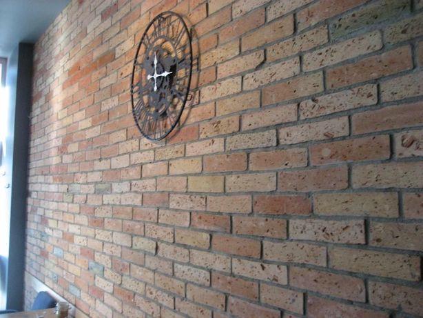 Płytki z prawdziwej cegły, środki, różne odcienie .Loft-Styl. Łódź