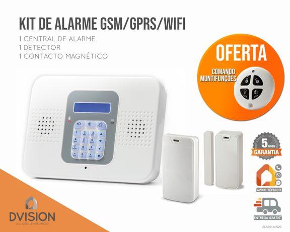 Kit de Alarme GSM / GPRS / WIFI