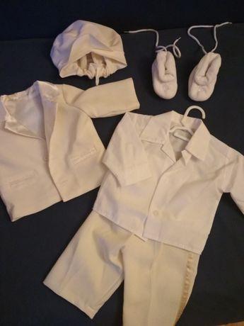 Ubranie do chrztu dla chłopca