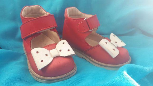 Кожаные сандали 21 размер