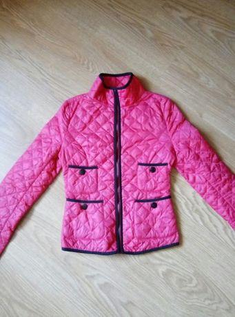 Стеганная курточка для девочки лет 10-12