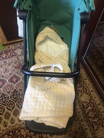 Сумка-трансформер для памперсов и одеялко-конверт к коляске