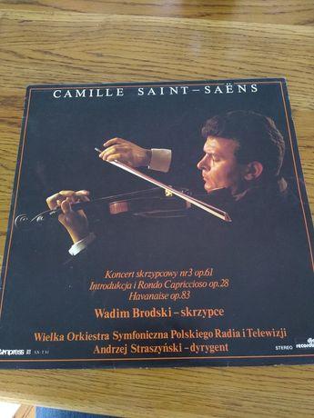 Camille Saint Saëns koncert skrzypcowy op. 61 polskie radio winyl