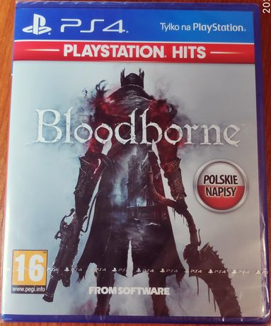 Gra Bloodborne PS4 Nowa! Pełna polska wersja.