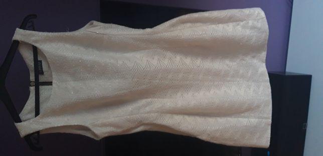 Biała sukienka firmy EMO rozmiar S/M