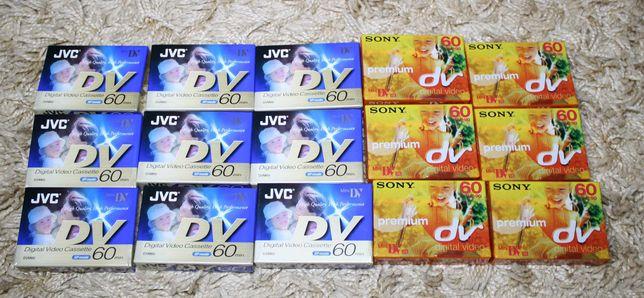 Новые кассеты Mini DV –JVC , SONY ! Оригинал ! Япония , Франция !