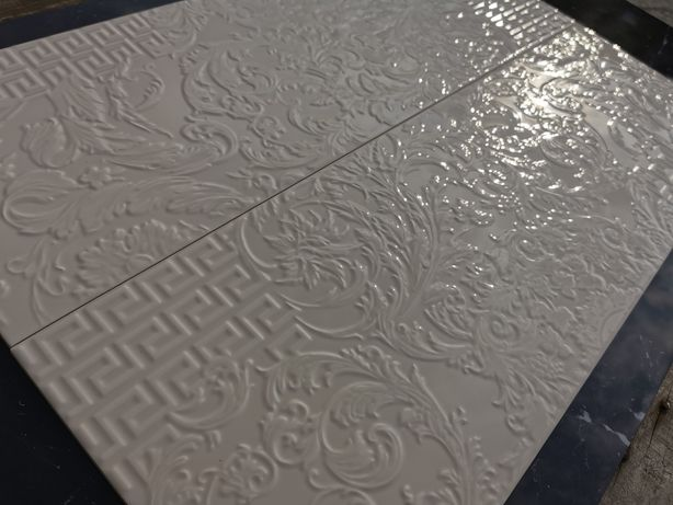 Versace Płytki ceramiczne 25x75 Crema Patchwork