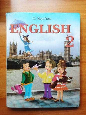 Англійська 2 клас О.Карпюк 2012