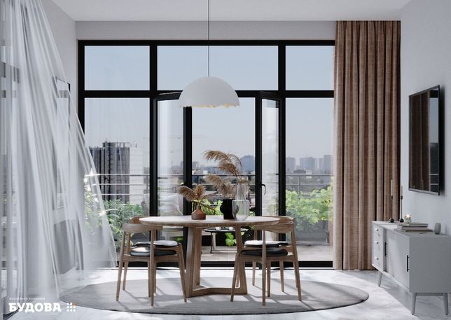 2-к квартира с Кухней 19м2 в Новом Доме! без комиссии Малиновский р-н