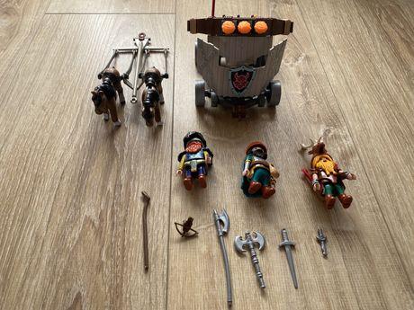 Playmobil knights 9341 zaprzeg kucyków z balista
