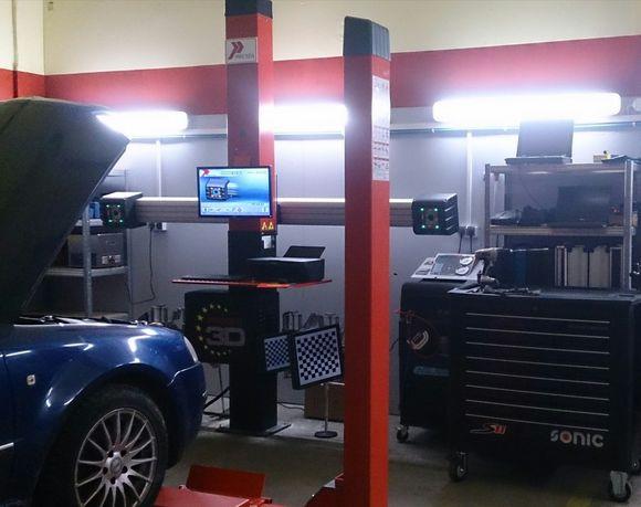 Wyposażenie warsztatu samochodowego