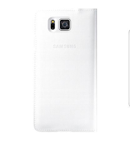 Nowe oryginalne etui do Samsung Galaxy Alpha białe