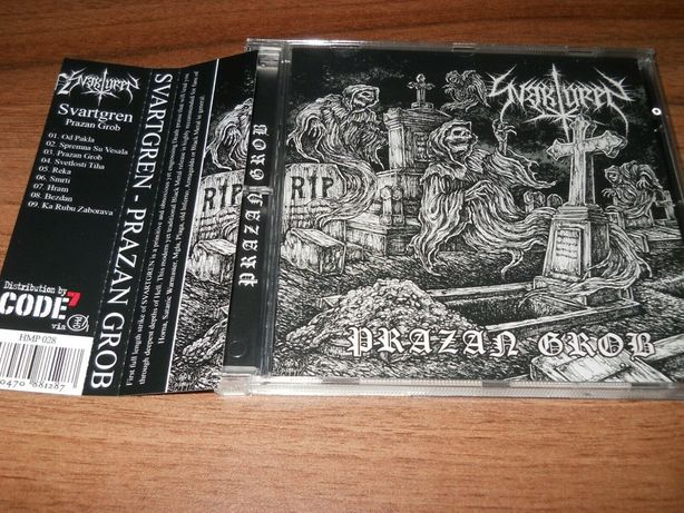 Svartgren - Prazan grob CD black metal
